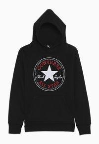 Converse - CHUCK PATCH HOODIE  - Hoodie - black - 0