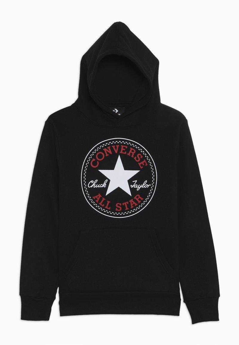 Converse - CHUCK PATCH HOODIE  - Hoodie - black
