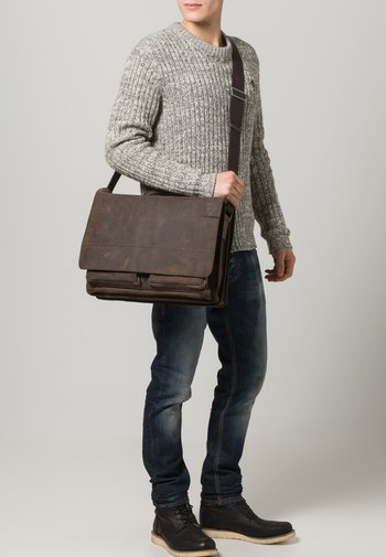 RICHMOND - Laptop bag - dark brown