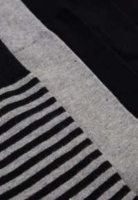 Schiesser - 5 PACK - Socks - black/mottled dark grey - 1