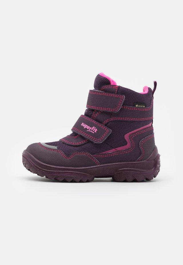 SNOWCAT - Zimní obuv - lila/rosa