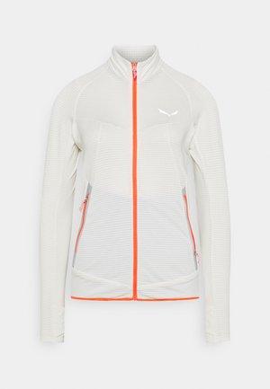 PEDROC - Fleece jacket - white melange