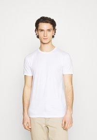 Denim Project - 10 PACK  - T-shirt basique - black/white/light grey melange - 1
