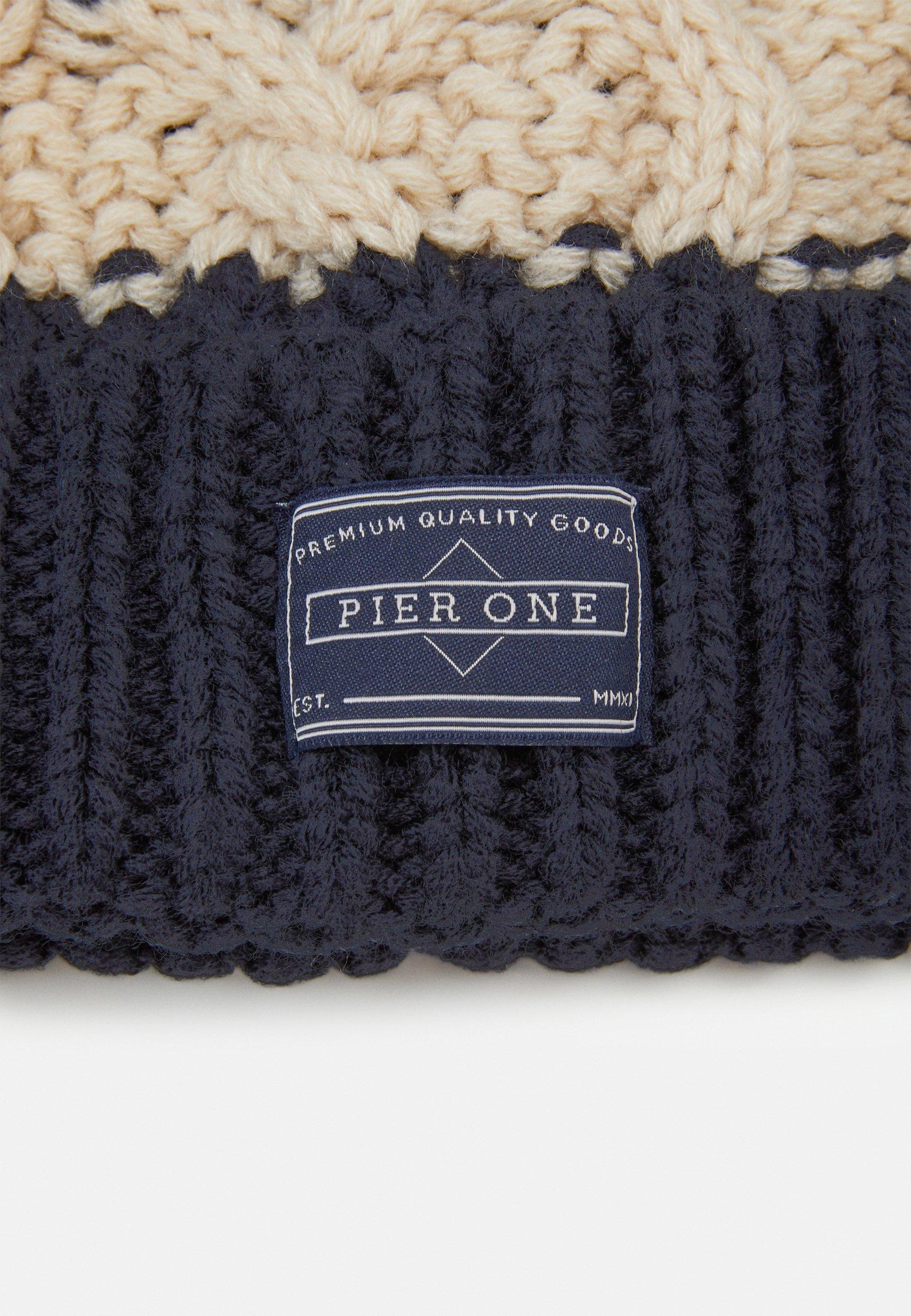 Pier One Mütze - Dark Blue/dunkelblau