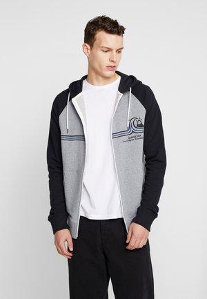 ESSSCREENZIPTER - Zip-up sweatshirt - light grey heather