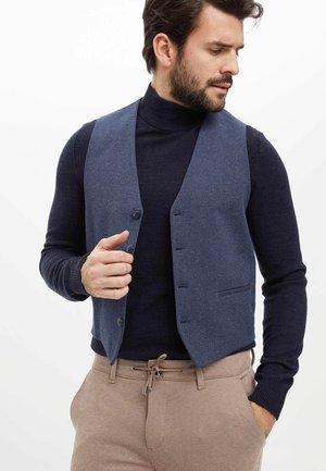 Suit waistcoat - indigo