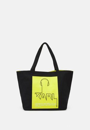 VOICES MUSIC SHOPPER - Tote bag - green
