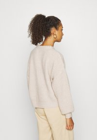 Even&Odd - Strikpullover /Striktrøjer - light tan - 2