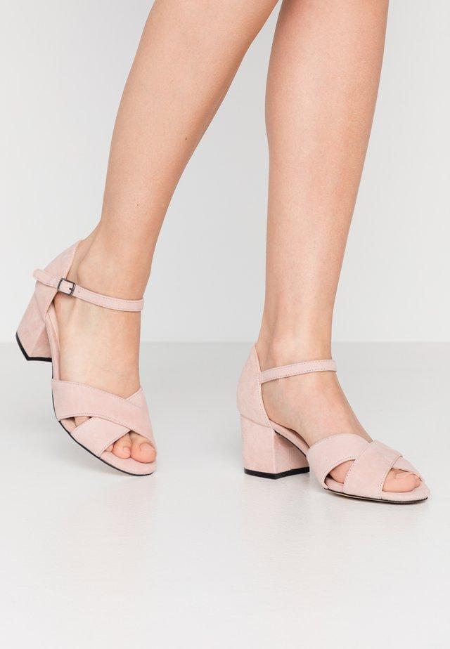 BIACATE CROSS  - Sandals - powder
