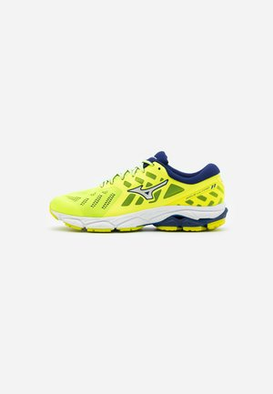WAVE ULTIMA 11 - Neutral running shoes - yellow/white/bluedepths
