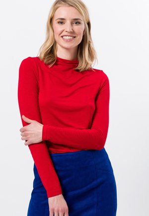 Long sleeved top - red flame