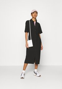 EDITED - LAILA DRESS - Shirt dress - schwarz - 1