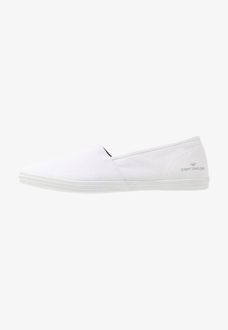 TOM TAILOR - Slippers - white