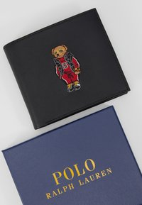Polo Ralph Lauren - WALLET SMOOTH - Geldbörse - black - 2