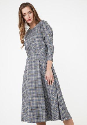 ASUANA - Day dress - grau/ indigo