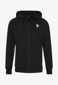 Black Diamond - FULLZIP HOODY STACKED - Sweatshirts - black - 3