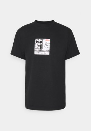 THE MEDIUM IS THE MESSAGE - Print T-shirt - black