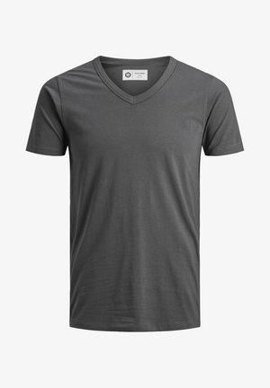 BASAL  - Basic T-shirt - asphalt