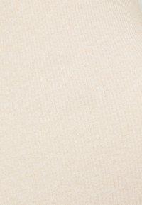 Topshop - WRAPPED MIDI - Jumper dress - cream - 6