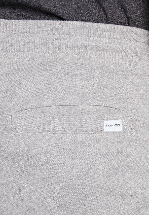 Jack & Jones JJIGORDON - Spodnie treningowe - light grey melange/jasnoszary melanż Odzież Męska YVZV