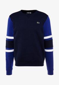 Lacoste Sport - SWEATER - Sweatshirt - navy blue/ocean/white - 3
