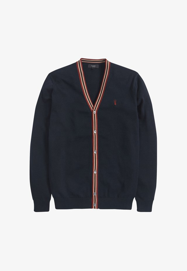TIPPED - Cardigan - blue