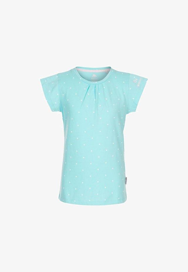 HARMONY - Print T-shirt - türkis