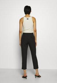 Hope - KRISSY EDIT TROUSER - Spodnie materiałowe - black - 2