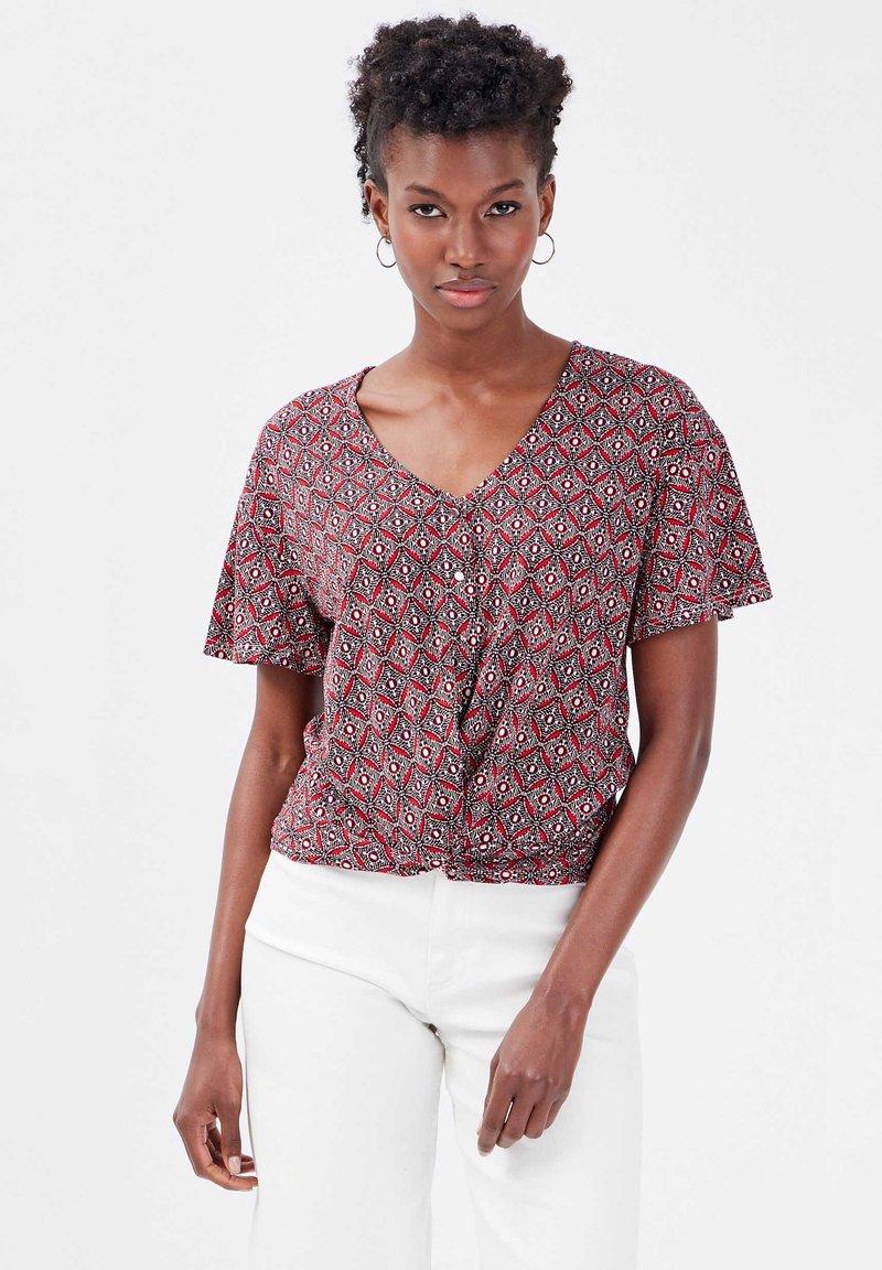 Cache Cache - Print T-shirt - blanc