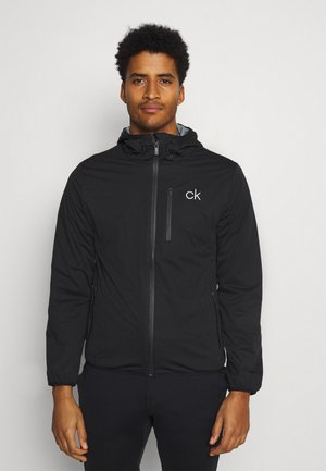 ULTRON HOODED JACKET - Waterproof jacket - black