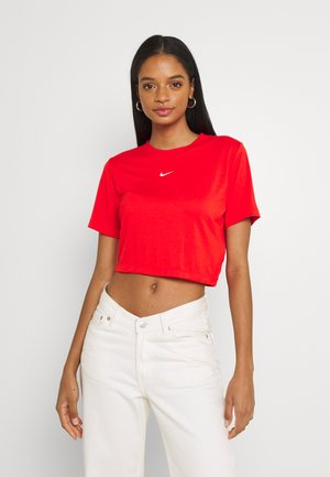 TEE - T-shirt imprimé - chile red/white