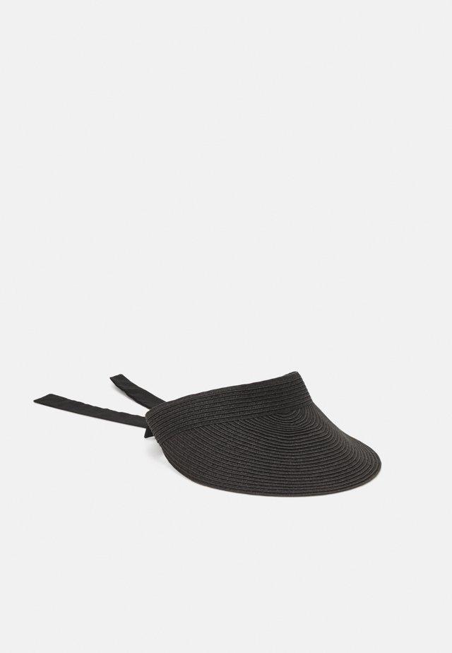 SOLID VISOR - Cappellino - black
