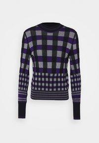ROXANNE - Jumper - purple/white