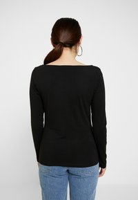 Anna Field Petite - 2PACK  - Bluzka z długim rękawem - black/white - 3
