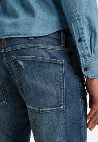 G-Star - 5620 3D ZIP KNEE SKINNY - Jeans Skinny Fit - faded ripped baltic sea - 2