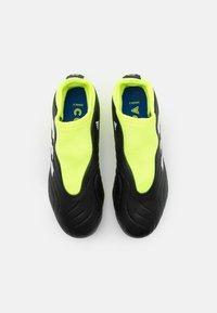 adidas Performance - COPA SENSE.3 FG UNISEX - Korki Lanki - core black/footwear white/solar yellow - 3