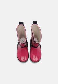 Playshoes - UNISEX - Wellies - pink/marine - 3