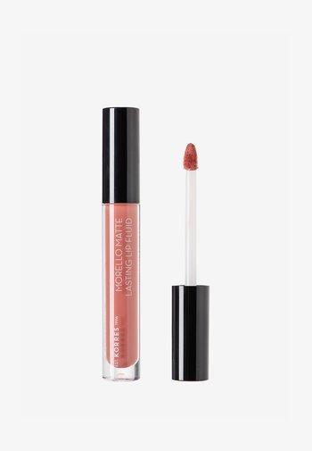 MORELLO MATTE LASTING LIP FLUID - Liquid lipstick - 06 romantic nude