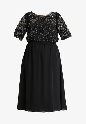 YSEQUINS DRESS - Cocktail dress / Party dress - black