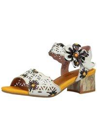 LAURA VITA - Sandals - blanc - 1
