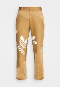 adidas Originals - SUIT PANT - Trousers - cardboard - 4