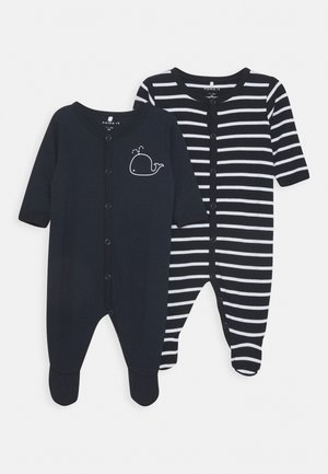 NBMNIGHTSUIT 2 PACK - Pyjamas - dark sapphire