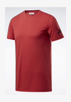WORKOUT READY JERSEY TECH TEE - T-shirt basique - red