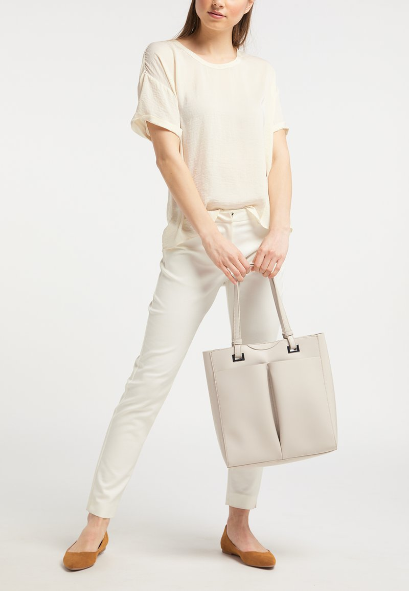 usha - WHITE LABEL - Handbag - light grey