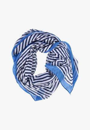 Foulard - blau-white
