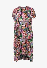 Madam-T - ADELINARA - Maxi dress - schwarz rosa - 7
