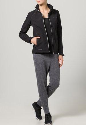 CYCLONE IV - Soft shell jacket - black