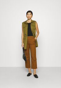 Who What Wear - TROUSER - Trousers - brown - 1