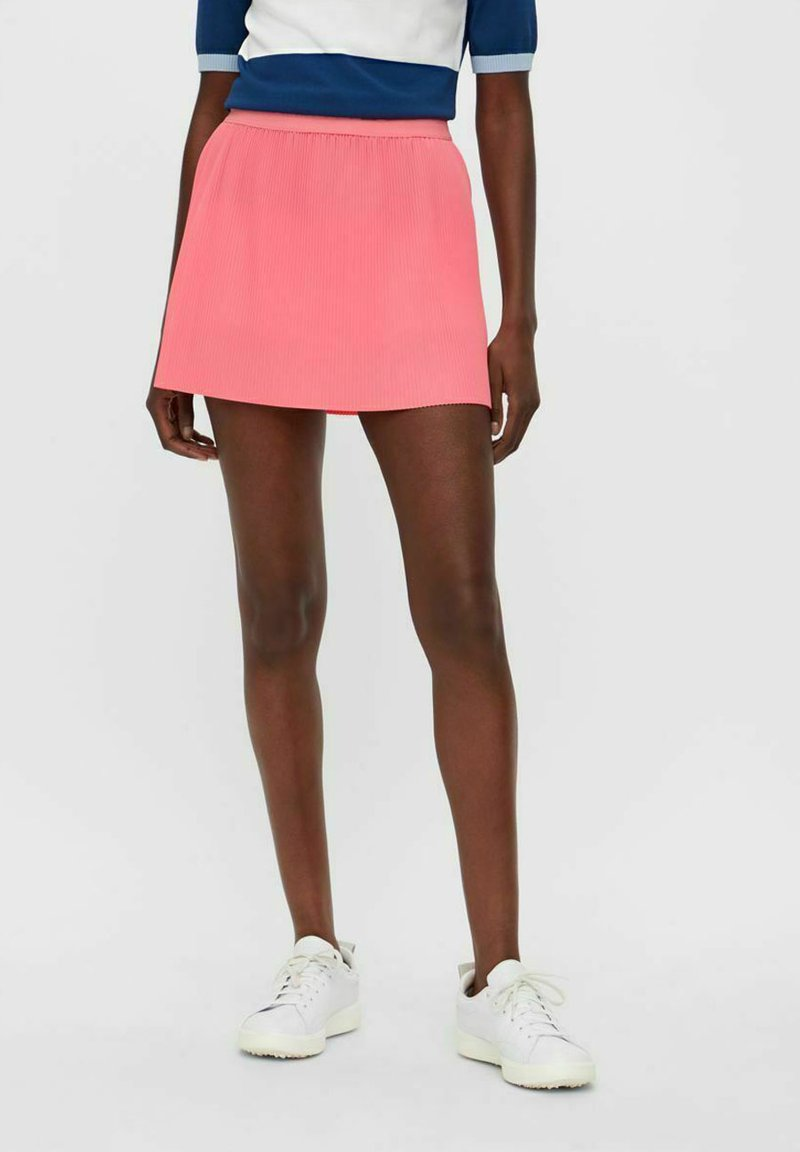 J.LINDEBERG - Pleated skirt - tropical coral
