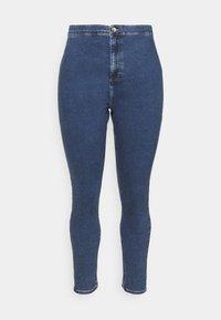 Even&Odd Curvy - JEGGING - Jeans Skinny Fit - blue denim - 3